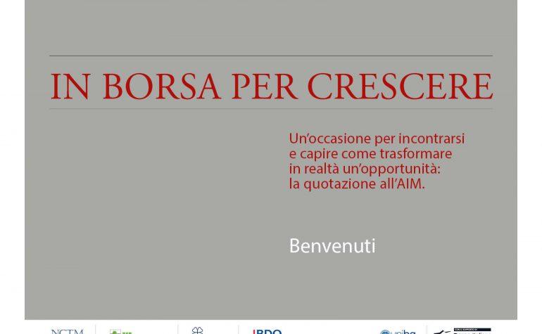 Ambromobiliare – In Borsa per crescere – Bergamo ottobre 2015