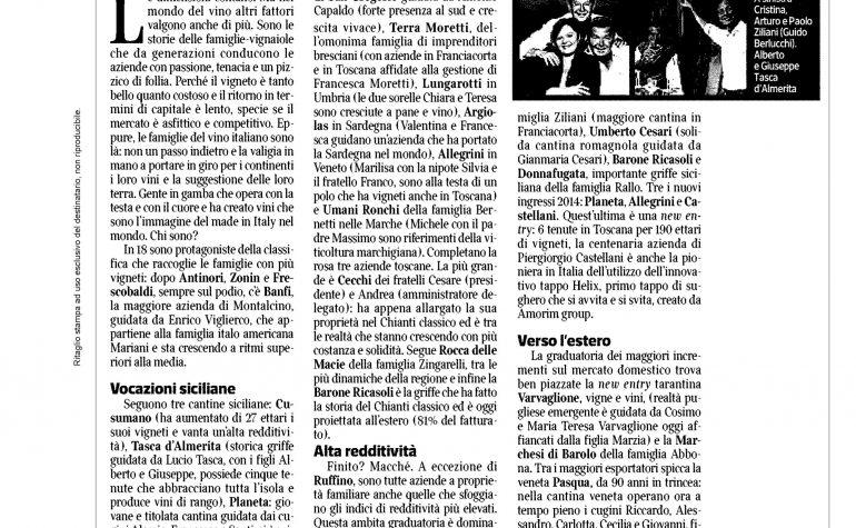 Corriere Economia 27 aprile 2015 pubblicità