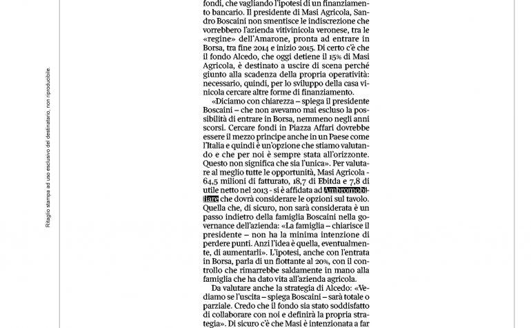 Corriere del Veneto 17 gennaio 2015