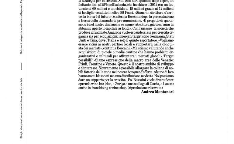 Milano Finanza 13 giugno 2015