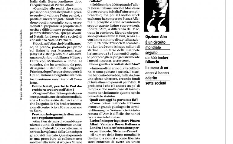 Il giornale 4 aprile 2010