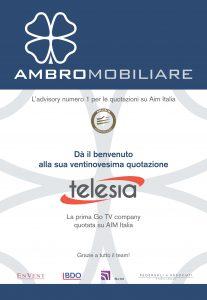 Pubblicità Telesia