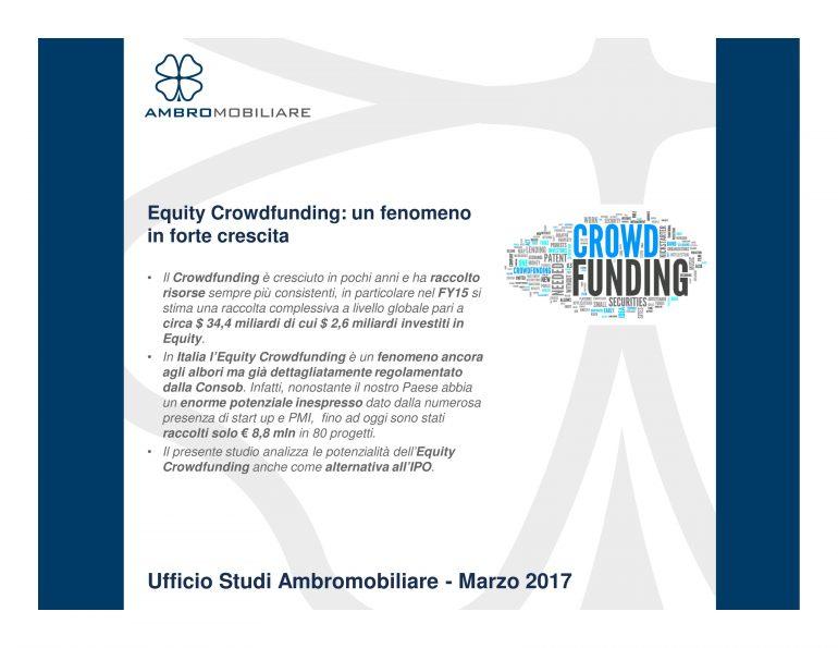 Equity Crowdfunding: un fenomeno in forte crescita