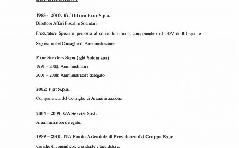 CV e cariche Bernaschoni