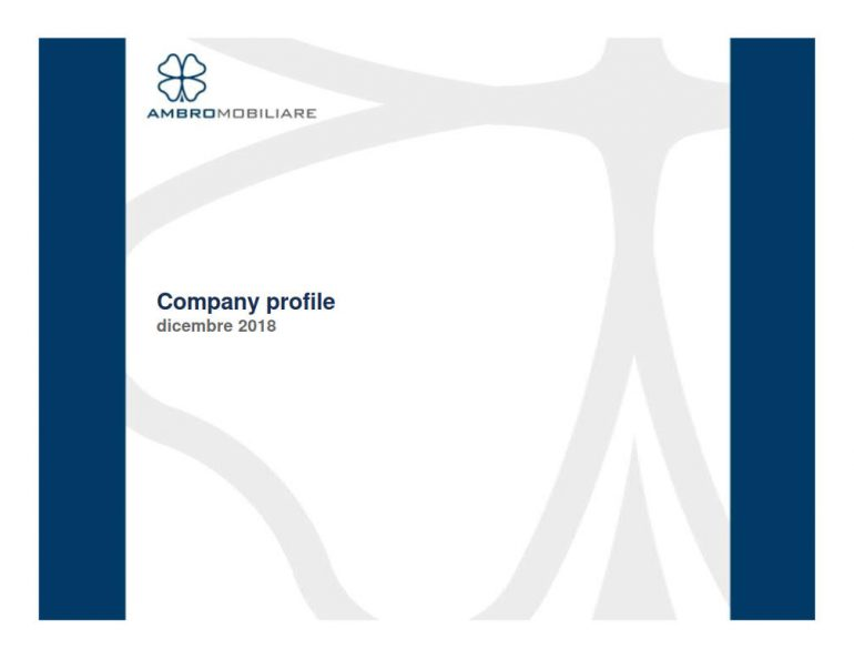 Company Profile dicembre 2018