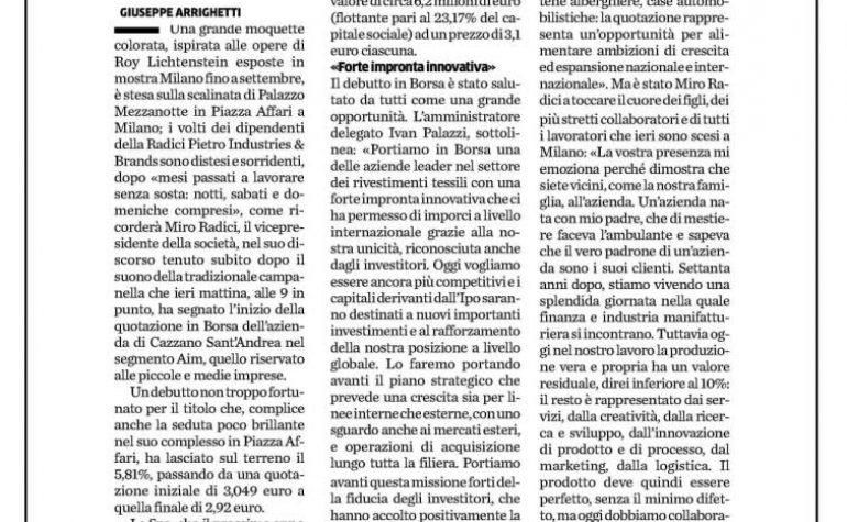 Eco di Bergamo 27 luglio 2019