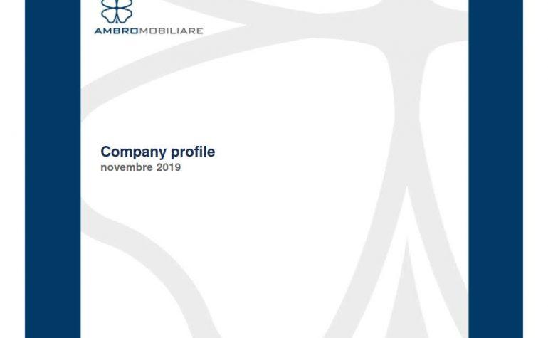 Company profile novembre 2019