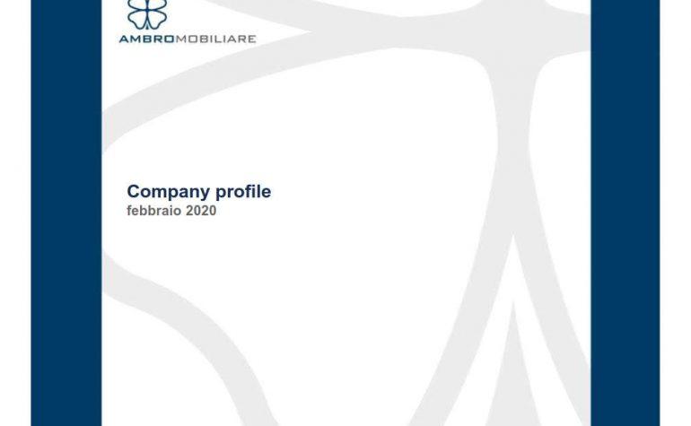 Company profile febbraio 2020