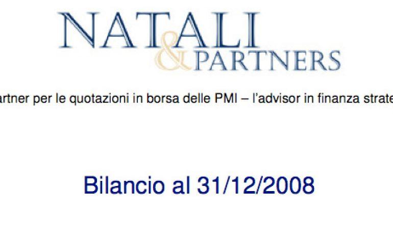 Bilancio al 31.12.2008