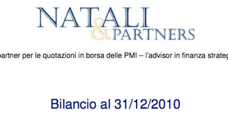 Bilancio al 31.12.2010