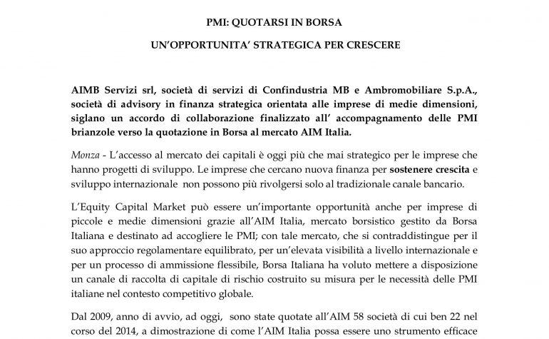 Accordo commerciale con AIMB
