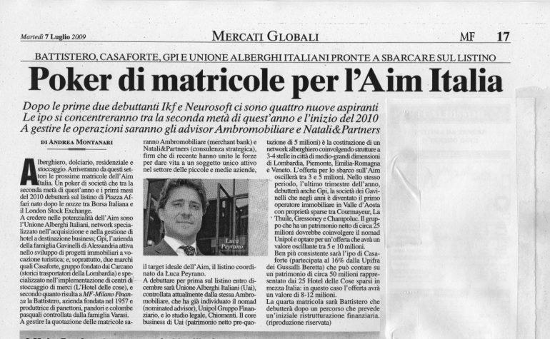 Aim Italia – MF 07-07-09