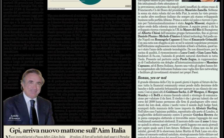 Milano Finanza 23 10 2010