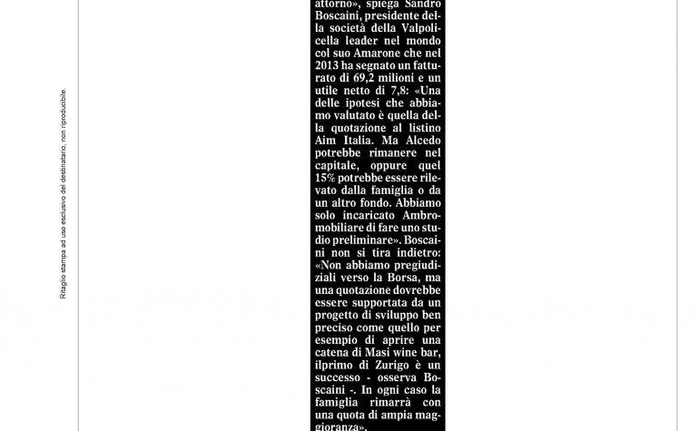 Il gazzettino 17 gennaio 2015