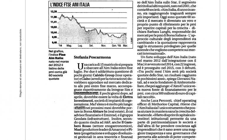 La Repubblica 23 marzo 2015
