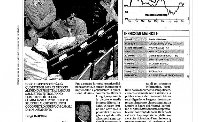 La Repubblica 9 settembre 2013
