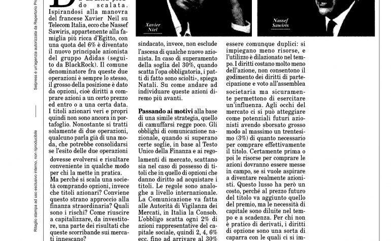 Milano Finanza 14 novembre 2015