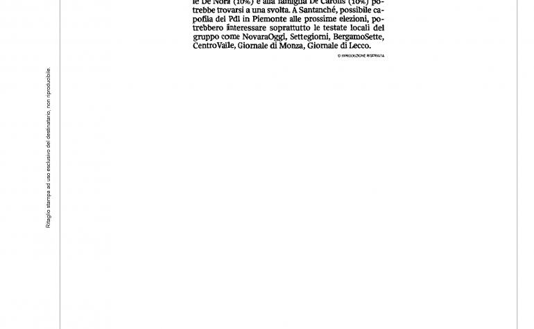 Corriere della Sera 11 gennaio 2013