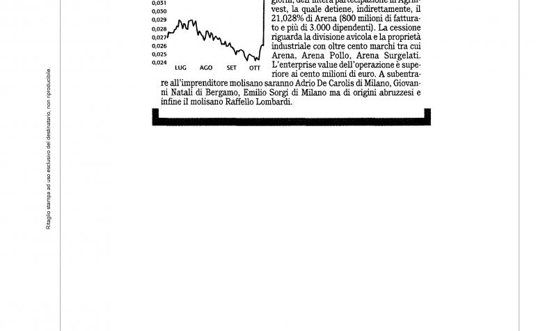 Finanza Mercati 26 ottobre 2010