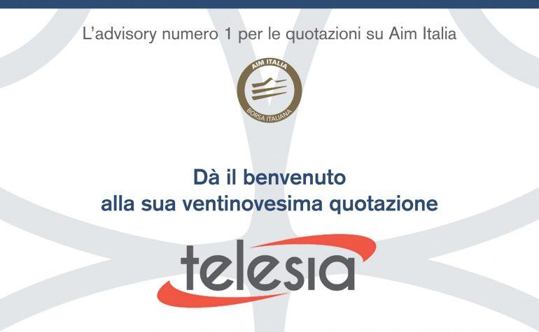 Pubblicità Ambromobiliare per Telesia su Milano Finanza 18 febbraio 2017