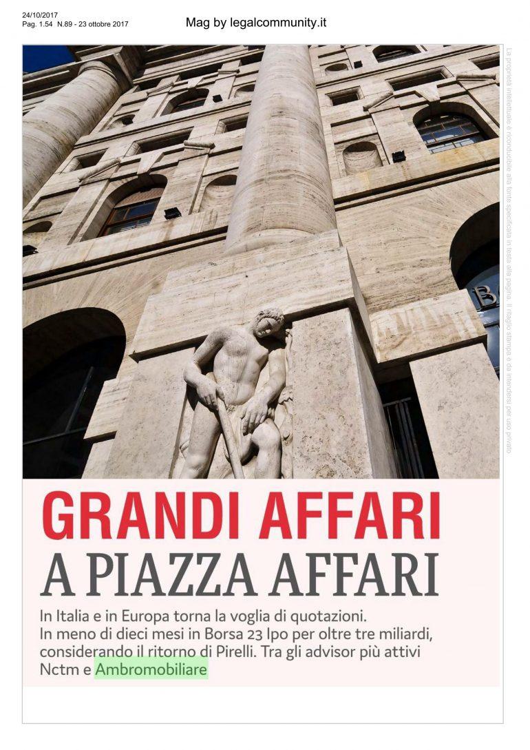 Mag by Legal community 24 ottobre 2017