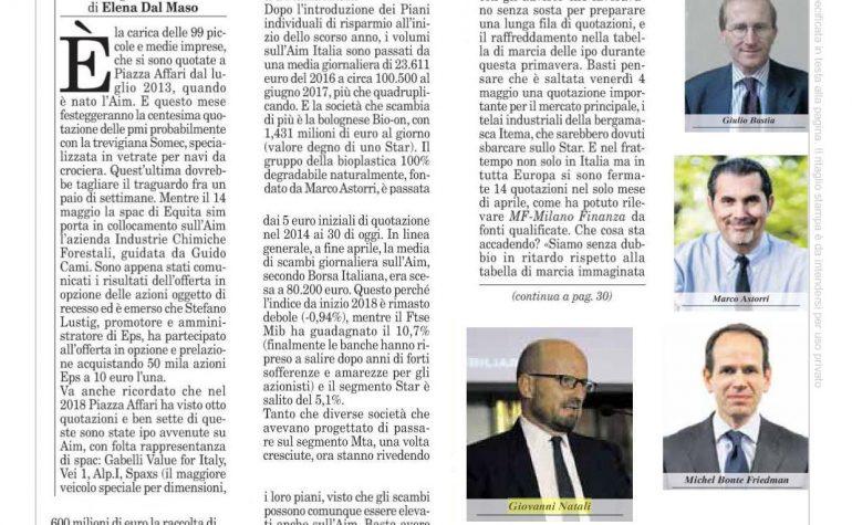 Milano Finanza (2) 5 maggio 2018