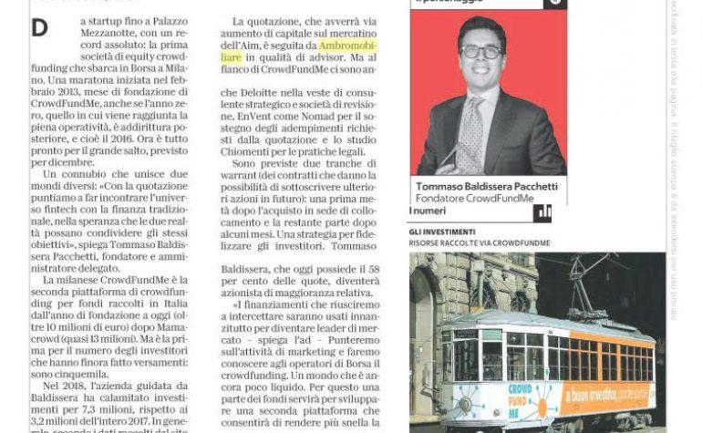 Affari & Finanza – la Repubblica 19 novembre 2018