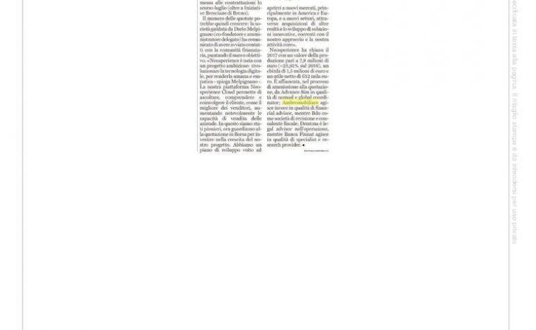 Brescia Oggi 30 novembre 2018