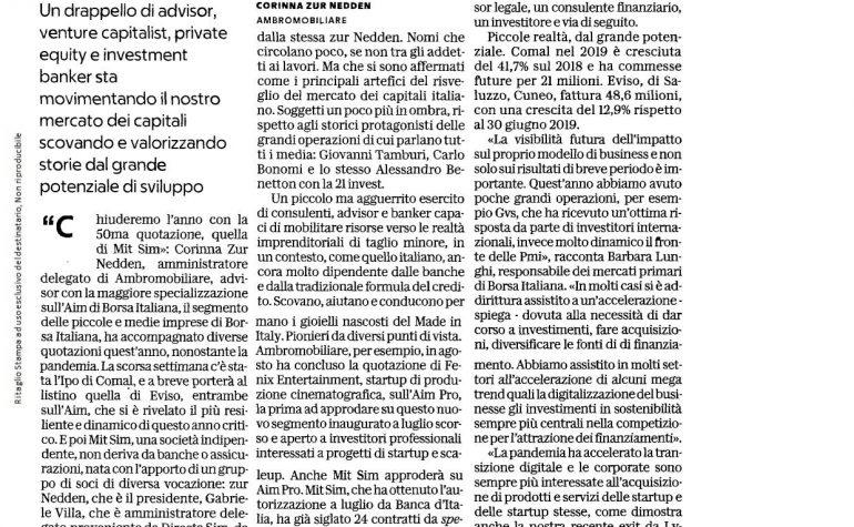 Affari&Finanza La Repubblica 21 dicembre 2020