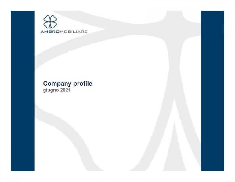 Company Profile giugno 2021